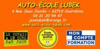 Auto-école Lubek  Courrières 04 rue jean Jaurès 62710