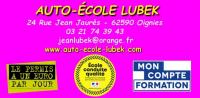 Auto-école Lubek Oignies 24 rue jean jaurès 62590