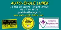 Auto-ecole lubek Arleux 11 rue du centre 59151